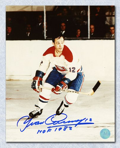 e54573f9efa Yvan Cournoyer Montreal Canadiens Autographed Action 8x10 Photo at ...