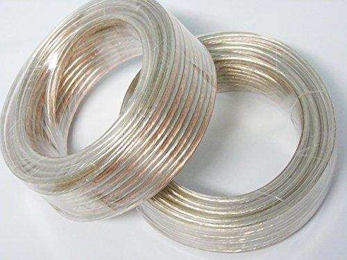 14 Gauge 50 Feet (25 Foot Spools) Spool of OFC Speaker Wire