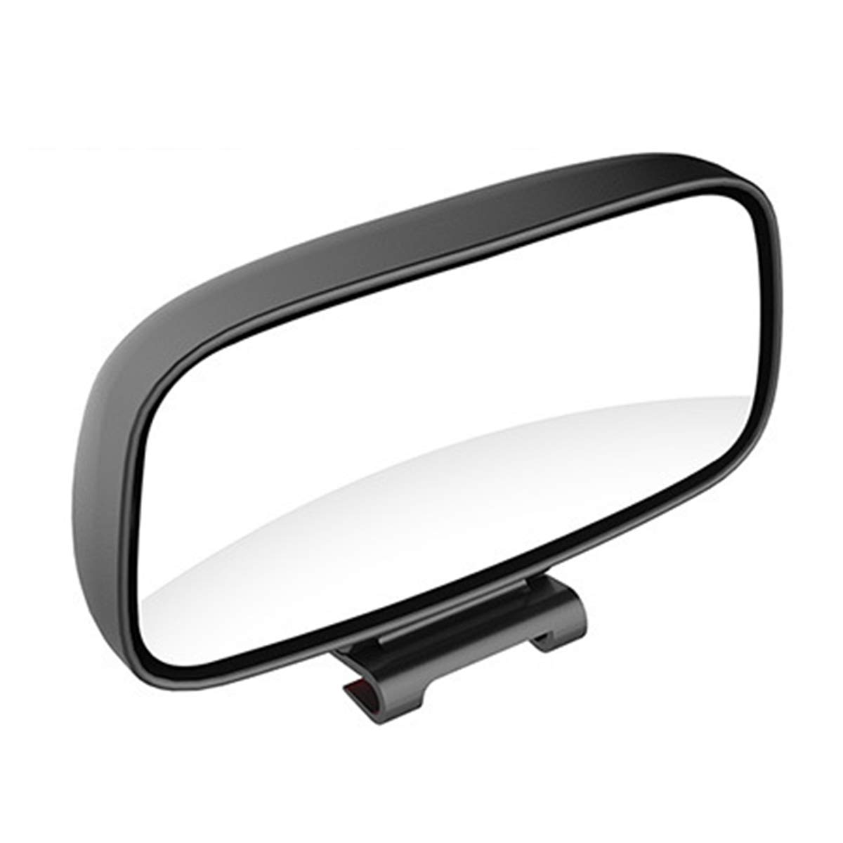 blanco espejo retrovisor auxiliar espejo universal para punto ciego del autom/óvil espejo giratorio de 360 ??/° con /ángulo amplio ajustable 1 psc