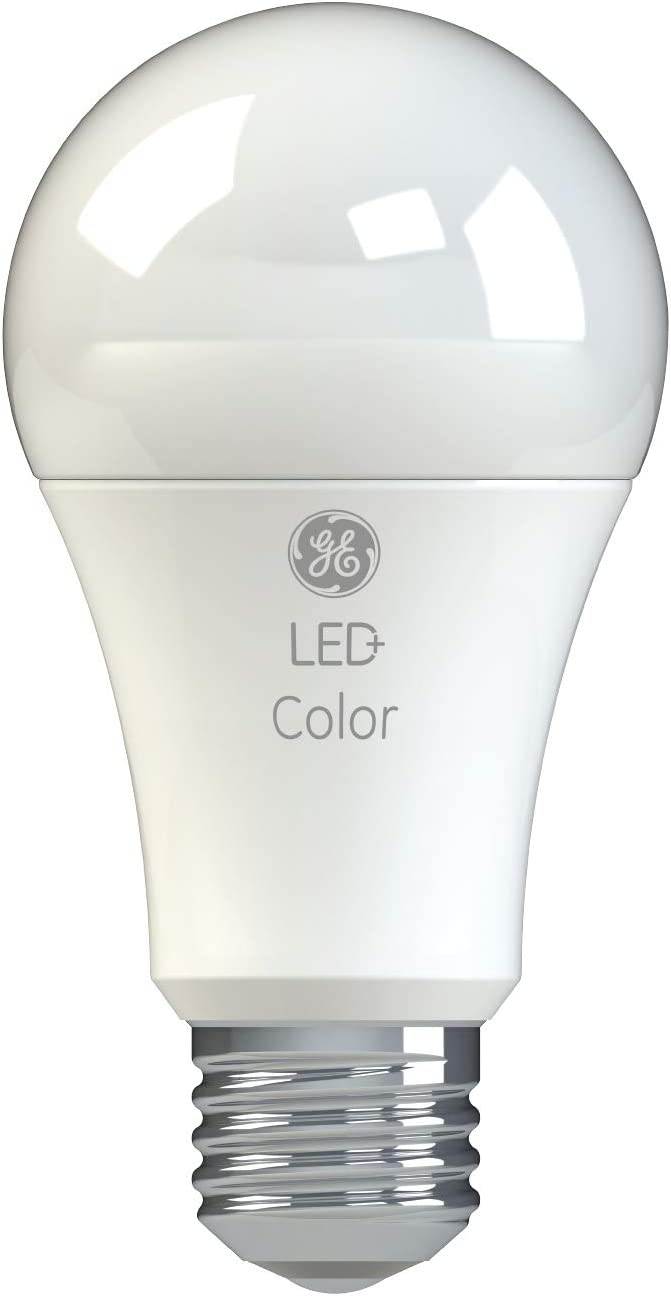 GE Lighting 93100289 LED+ Color Daylight/Soft White A19 Bulb, 1-Pack