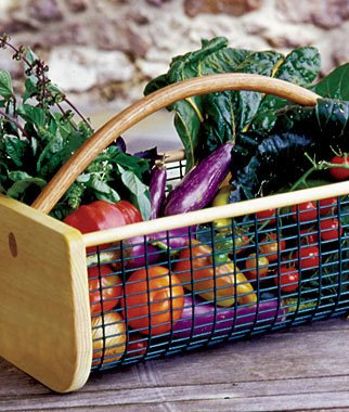 Burpee Large Garden Hod - Our Customer's Favorite (Garden Basket)