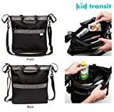 KID TRANSIT Everyday Baby Changing Bag with Shoulder Strap and Quick Buggy Attachment