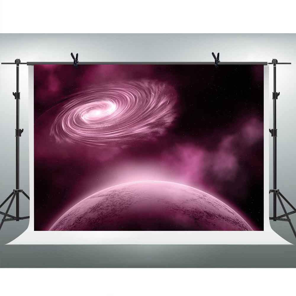 FHZON 10x7ft Cosmic Milky Way Backgrounds for Photography Earth Solar System Backdrop Theme Party Studio Props PFH633