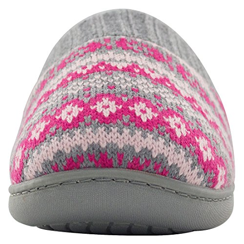 Pictures of RockDove Sweater Knit Scuff Slippers Women (7- 2