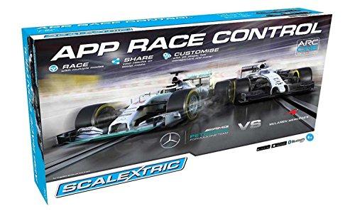 Scalextric App Race Control One Formula One 1:32 Arc One Slot Car Race Set