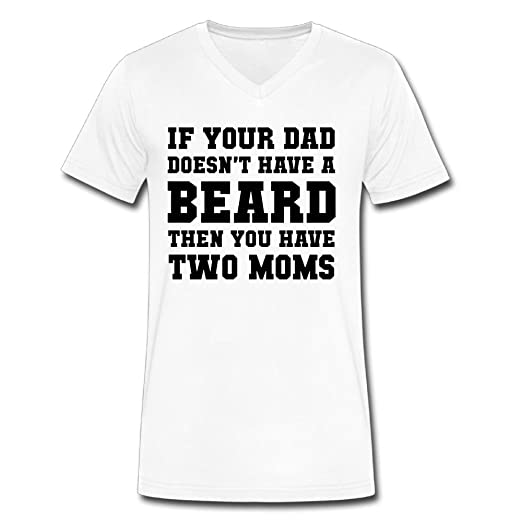 c81420c3 Image Unavailable. Image not available for. Color: Fangner Men's If Your  Dad Doesn't Have A Beard ...