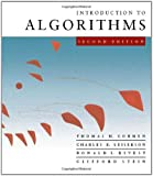 Introduction to Algorithms, Second Edition by Thomas H. Cormen (2001-09-01)
