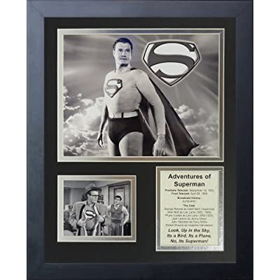 """Legends Never Die """"Adventures of Superman"""" Framed Photo Collage, 11 x 14-Inch by Legends Never Die"""