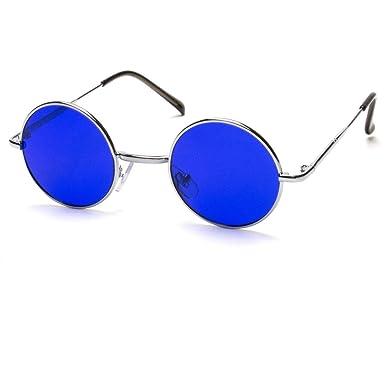 fc7d9a17ad96 Amazon.com: John Lennon Vintage Retro Classic Circle Round Sunglasses Men  Women Color q: Clothing