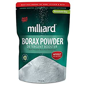 MILLIARD Borax Powder - Pure Multi-Purpose Cleaner 5 lb. Bag