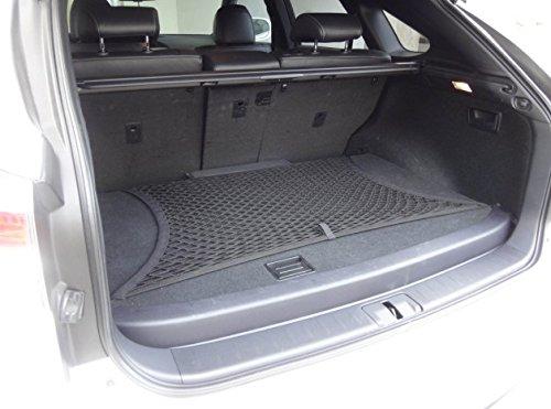 pegasuss Noir en maille filet Organiseur de coffre de rangement Cargo Net SUV au sol pour BMW X6