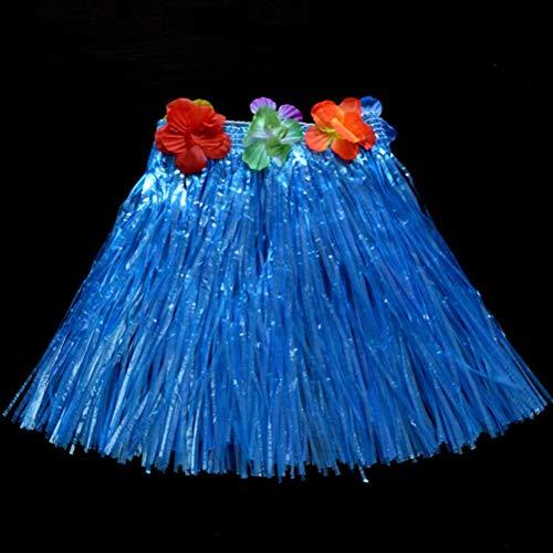 Grass Skirts - 10 Color 30cm Girl Dress Up Festive Party Plastic Fibers Children Grass Skirts Hula Skirt Hawaiian - Girl Hats Preschool Closet Little Shirts Trunk Princess Doll Veil -