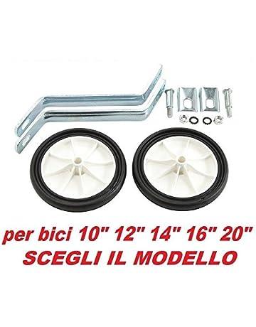 Estabilizadores y ruedas para bicicleta 10, 12, 14, 16