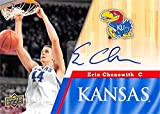 Autograph 212007 Kansas Jayhawks 2013 Upper Deck No. 62 Eric Chenowith Autographed Basketball Card