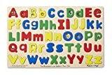 Melissa & Doug Upper & Lower Case Alphabet Letters Wooden Puzzle (52 pcs)