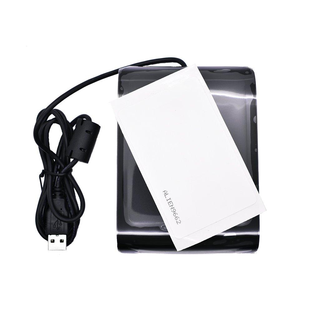 SDK pezzi UHF testing Cards Complie con gli standard di EPC C1G2 ISO 18000 UHF RFID Lettore di Schede WRD-130U1 860-960mhz USB desktop supporto