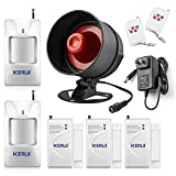 KERUI Standalone Home Office & Shop Security Alarm System Kit, Wireless Loud Indoor