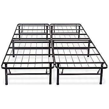 Amazon Com Olee Sleep 14 Inch Metal Platform Foundation