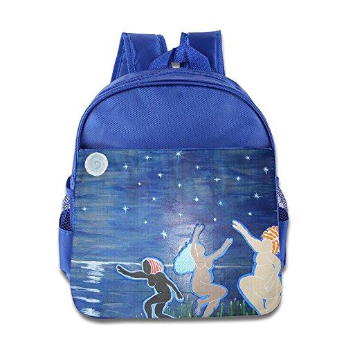KIDDOS Infant Toddler Kids Love Warrior Backpack School B...