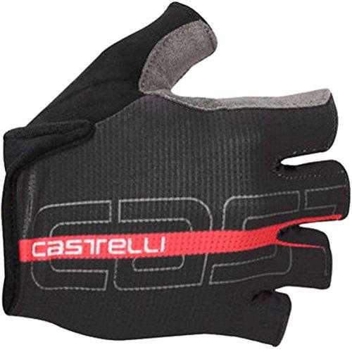 Castelli Tempo Glove - Men's Black/Red
