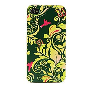 JJEPC Bird Tree Pattern Hard Case for iPhone 4/4S