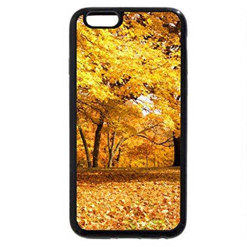 iPhone 6S / iPhone 6 Case (Black) yellow path