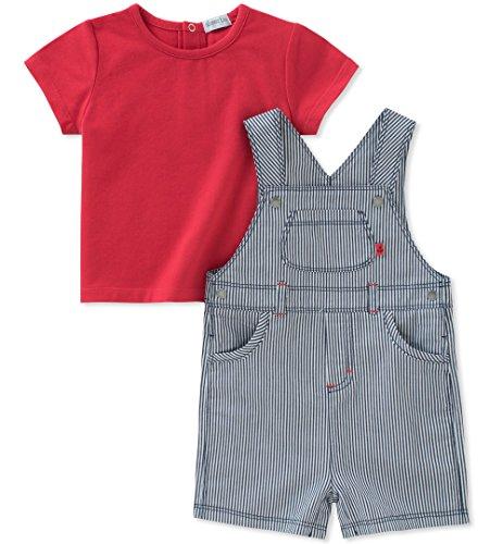 absorba Baby Shortall Set Boys, red/Blue, 12M