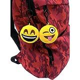 OHill 24 Pack Emoji Plush Pillows Mini Keychain for