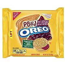 Oreo New Limited Edition PB&J Sandwich Cookie 10.7oz