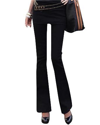 6b7761fc8ffbb5 Damen Skinny Hose Casualhosen Hohe Taille Hüftjeans Große Größen Jeans mit  Geradem Bein: Amazon.de: Bekleidung