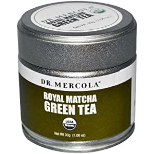 Dr. Mercola Royal Matcha Green Tea - USDA Certified Organic - 30g