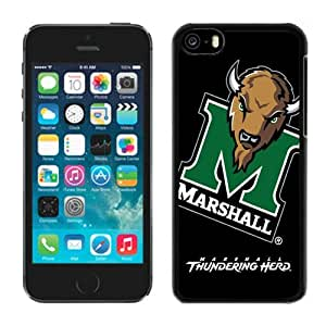 Best Black Coolest Iphone 5c Case Ncaa Conference USA Marshall Thundering Herd 06 Cheap Perfect Phone Deals Accessories