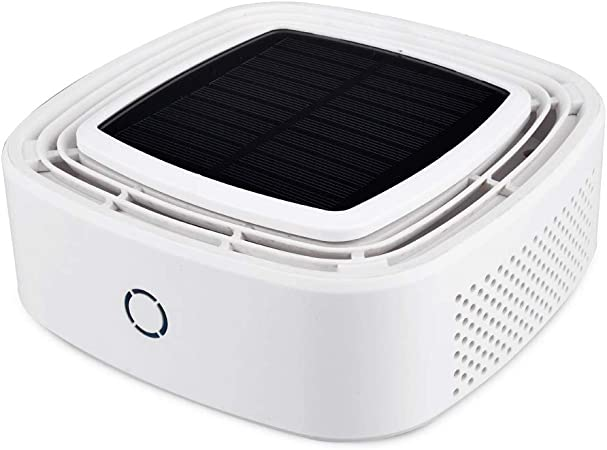 HPKJ Purificador de Aire del Coche Purificador Solar Purificador ...
