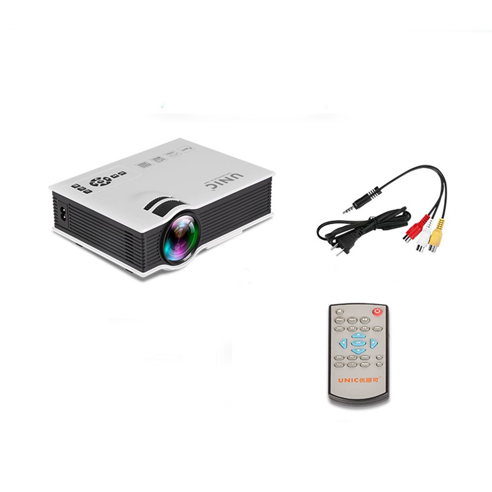 CPDZ HD Home Theater proyector LED hogar Pico Pico proyector LCD ...
