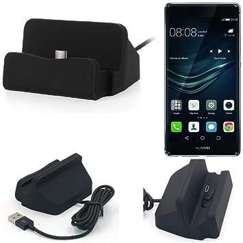 K-S-Trade Dock USB para el Huawei P9 Plus, Negro | estación ...