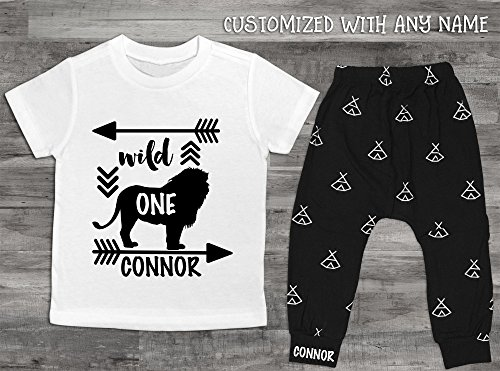 Baby Boy Clothes Wild One Birthday Boy First Birthday Boy 1st Birthday Boy Shirt Boy First Birthday Outfit First Birthday Boy Shirt Gorilla by Oliver and Olivia Apparel