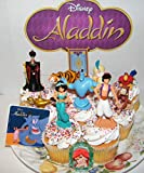 Aladdin Movie Deluxe Cake Toppers Cupcake
