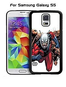 Snap On Galaxy S5 Funda Case Rugged Ant-Man Marvel Comics Drop Proof + Anti Dust Hard Shell Vintage Funda Case for Samsung Galaxy S5 i9600