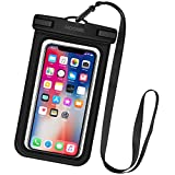 HOOMIL Waterproof Phone Case, IPX8 Certified Waterproof Phone Pouch Dry Bag for iPhone XS Max/XR/8 Plus/Samsung Galaxy S10 Plus/S9/Huawei P30 Pro/P30 Lite and More