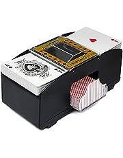 LTXDJ Kaartenschudder, automatische kaartenschudder, die voor poker, Rommé, UNO wordt gebruikt (tot twee decks)