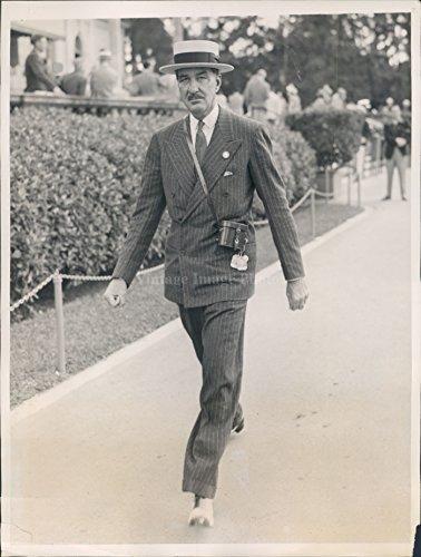 (1940 Charles A Munn NY Hialeah Park Racing Season Opening Miami FL Photo)