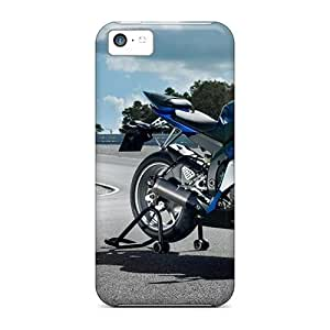 LJF phone case Awesome Case Cover/ipod touch 4 Defender Case Cover(2009 Yamaha Yzf R6 Wide)