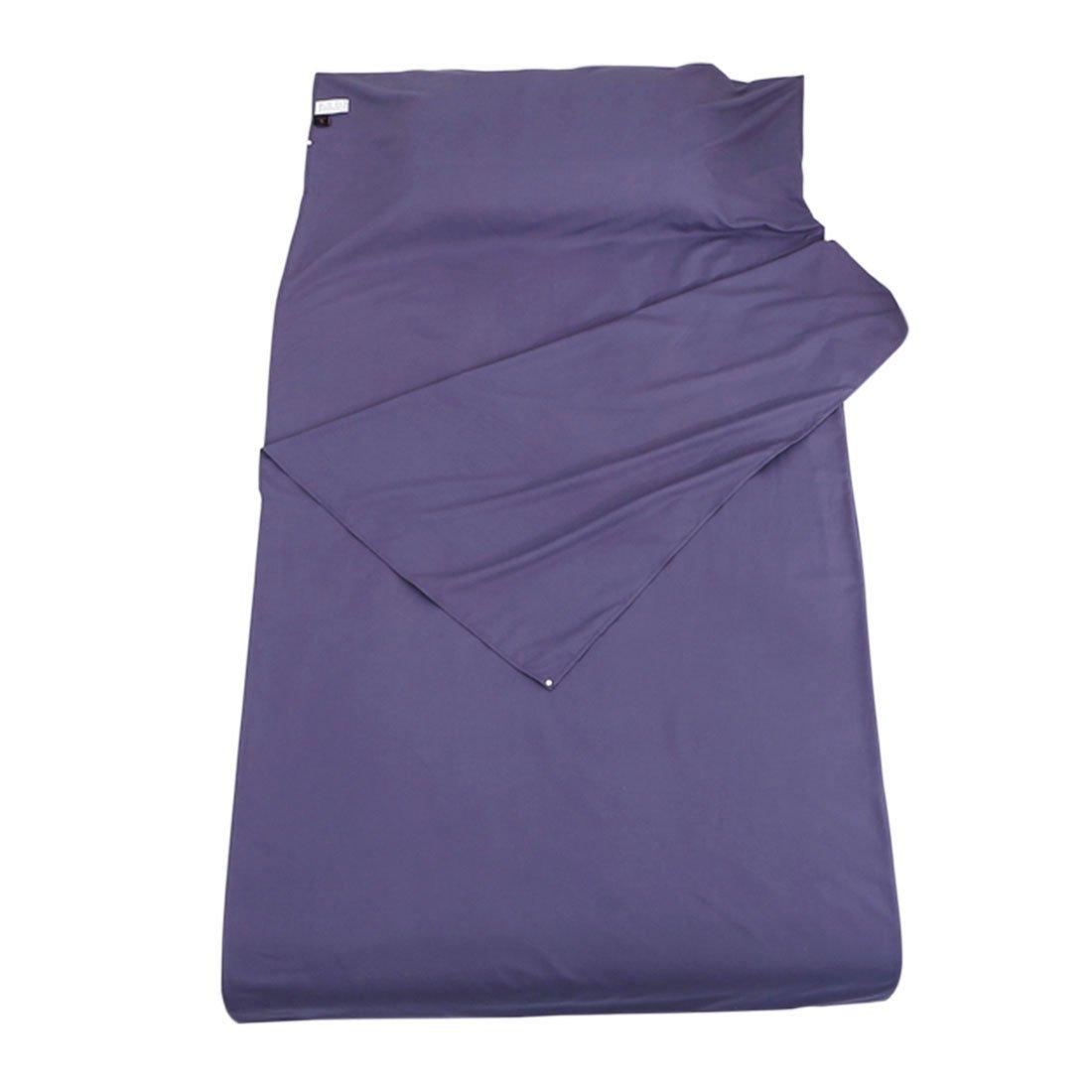 enerhu Sleepingバッグライナーホテル大人用シート軽量ポータブル旅行キャンプ睡眠袋シングルダブルサイズ 115*210cm enerhu/45*83
