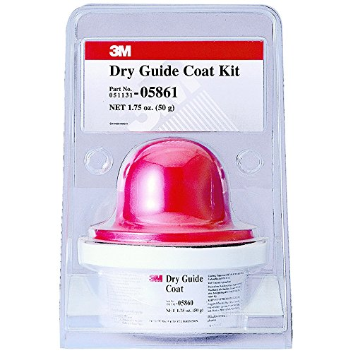 Staple Guide (3M 05861 Dry Guide Coat Cartridge and Applicator Kit - 50 g)