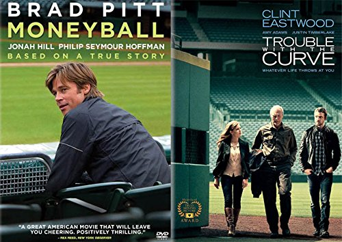 ouble Feature: Moneyball & Trouble With The Curve 2 DVD Double Feature (Brad Pitt/Clint Eastwood) ()