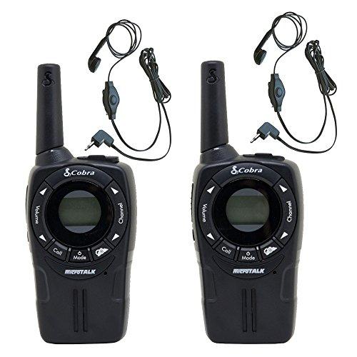 COBRA CXT225 Walkie Talkies Earbud