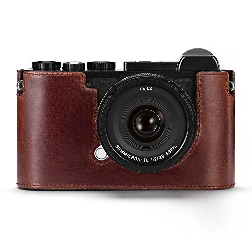 Leica CL Camera Leather Protector (Brown) (Camera Leica Case)