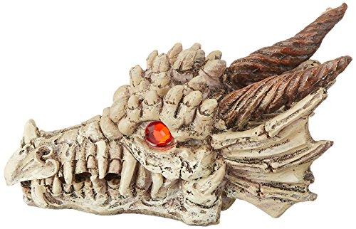Penn-Plax-RR1206-Dragon-Skull-Gazer-Ornament