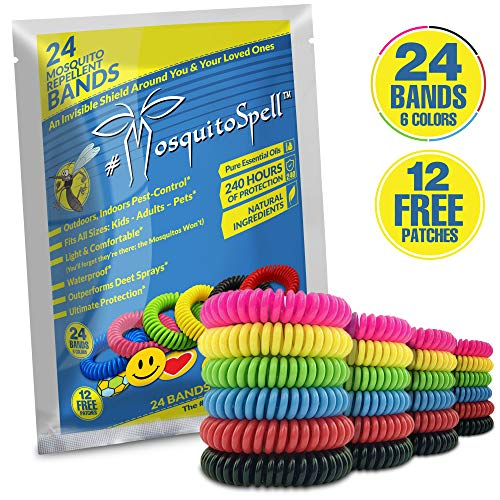 SelpHbalance Mosquito Repellent Bracelet for Kids, Adults & Pets - Travel Insect...