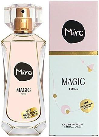 Eau de Parfum Miro Magic para mujer, 1 pack (50 ml): Amazon.es ...